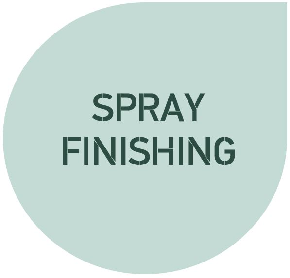 Cutlist Spray Priming and Spray Lacquering